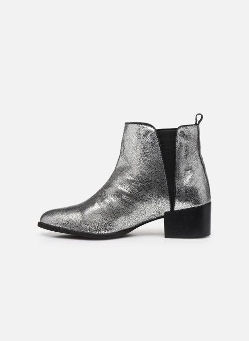 Stiefeletten & Boots Pepe jeans WATERLOO NIGHT silber ansicht von vorne