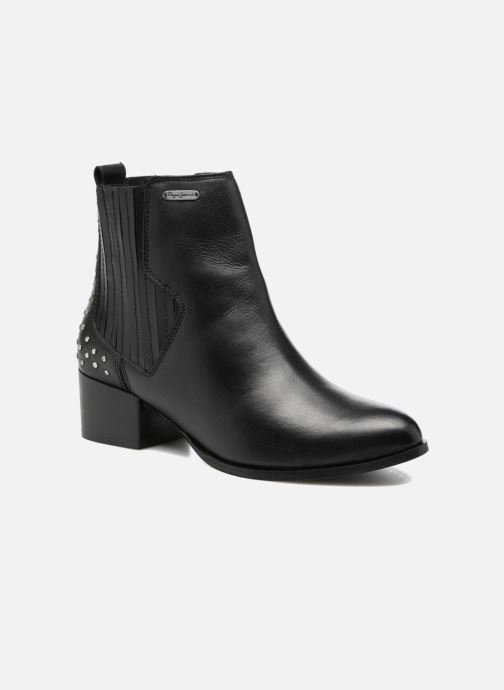 Bottines et boots Pepe jeans WATERLOO STRETCH Noir vue détail/paire