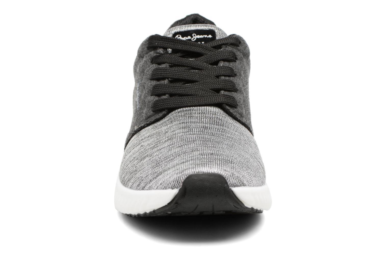 Baskets Pepe jeans SUTTON LACES Gris vue portées chaussures