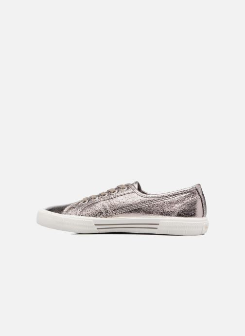Sneakers Pepe jeans Aberlady Met Argento immagine frontale