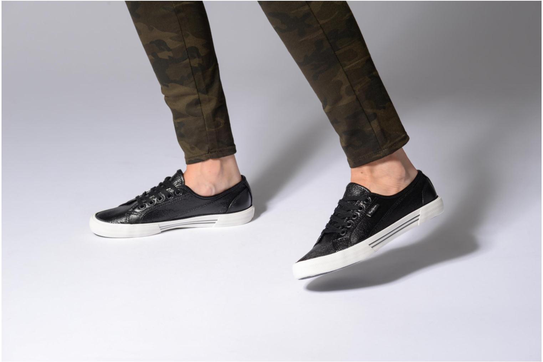 Baskets Pepe jeans Aberlady Met Noir vue bas / vue portée sac
