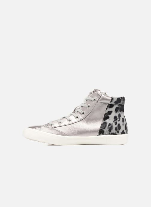 Sneakers Pepe jeans CLINTON SUE Argento immagine frontale