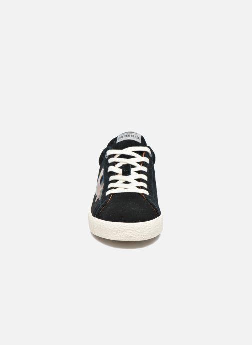 Baskets Pepe jeans PORTOBELLO EDT BARTLE Noir vue portées chaussures