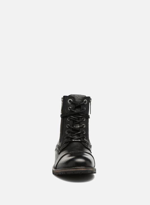 Bottines et boots Pepe jeans MELTING ZIPPER NEW Noir vue portées chaussures