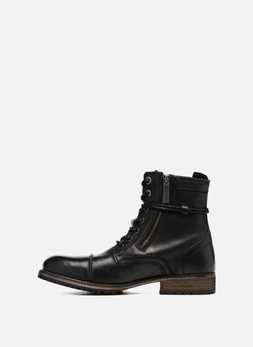 Boots en enkellaarsjes Pepe jeans MELTING ZIPPER NEW Zwart voorkant