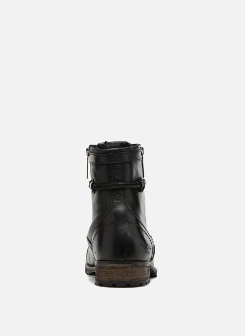 Boots en enkellaarsjes Pepe jeans MELTING ZIPPER NEW Zwart rechts