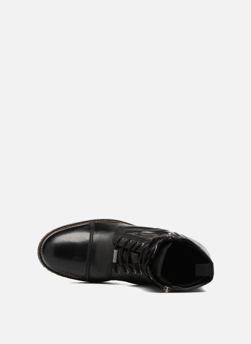 Stiefeletten & Boots Pepe jeans MELTING ZIPPER NEW schwarz ansicht von links