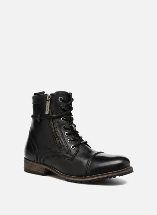 Boots en enkellaarsjes Pepe jeans MELTING ZIPPER NEW Zwart detail