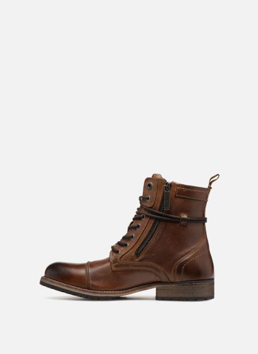Bottines et boots Pepe jeans MELTING ZIPPER NEW Marron vue face