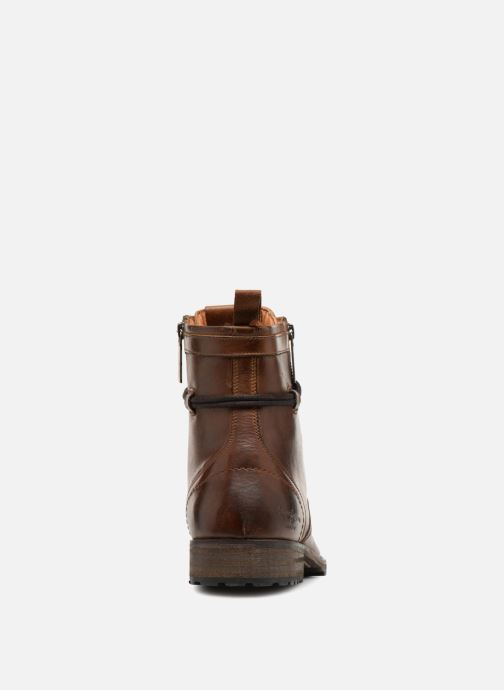 Bottines et boots Pepe jeans MELTING ZIPPER NEW Marron vue droite