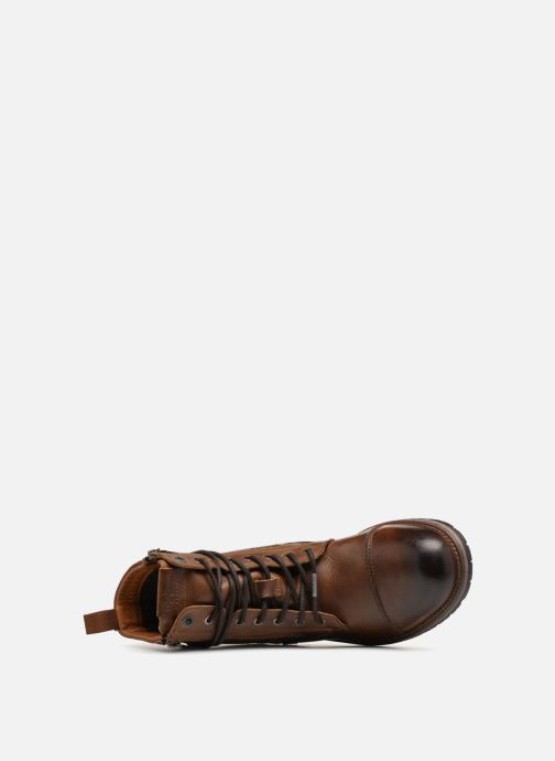 Bottines et boots Pepe jeans MELTING ZIPPER NEW Marron vue gauche