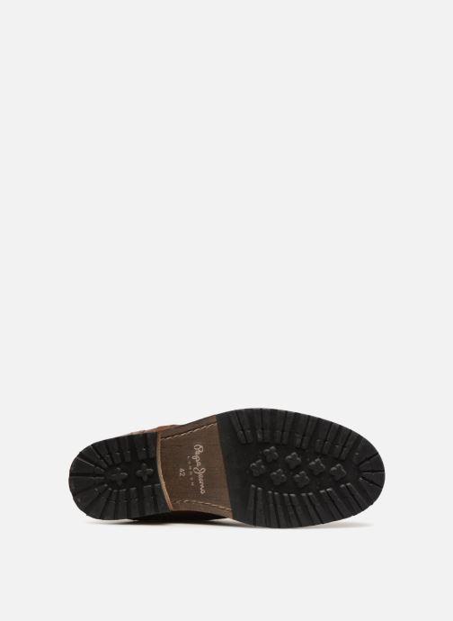Bottines et boots Pepe jeans MELTING ZIPPER NEW Marron vue haut