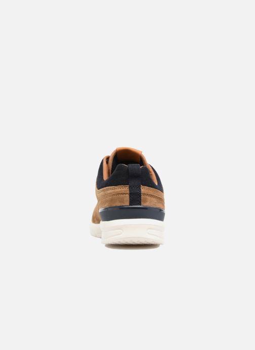Sneakers Pepe jeans JAYDEN SUEDE Marrone immagine destra