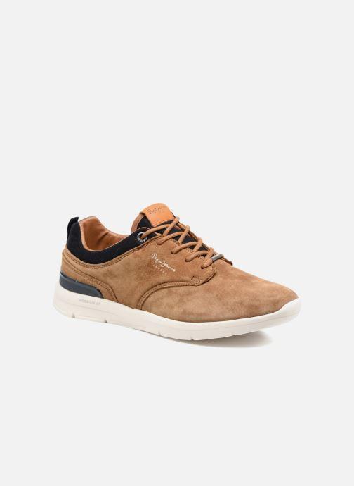 Sneakers Pepe jeans JAYDEN SUEDE Marrone vedi dettaglio/paio