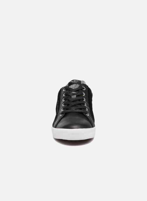 Baskets Pepe jeans NORTH MIX Noir vue portées chaussures