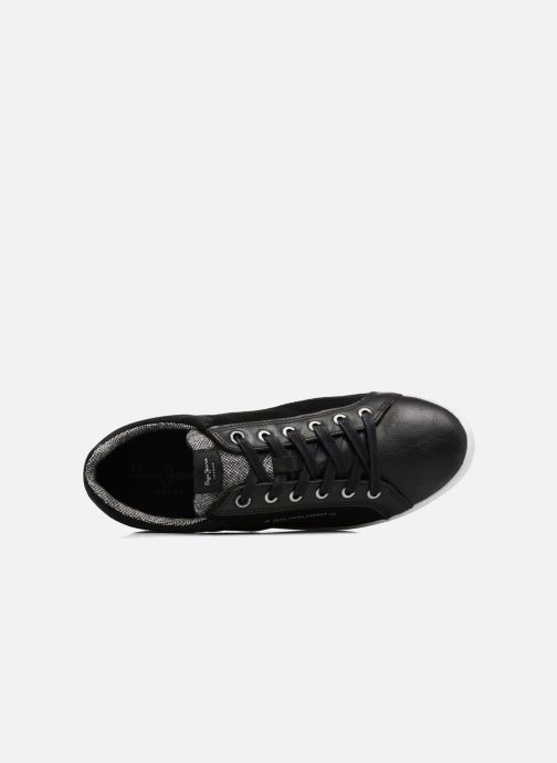 Baskets Pepe jeans NORTH MIX Noir vue gauche