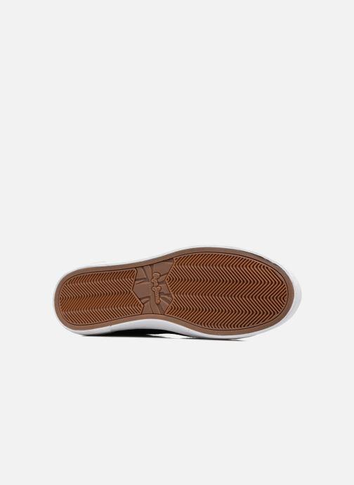 Baskets Pepe jeans NORTH MIX Noir vue haut