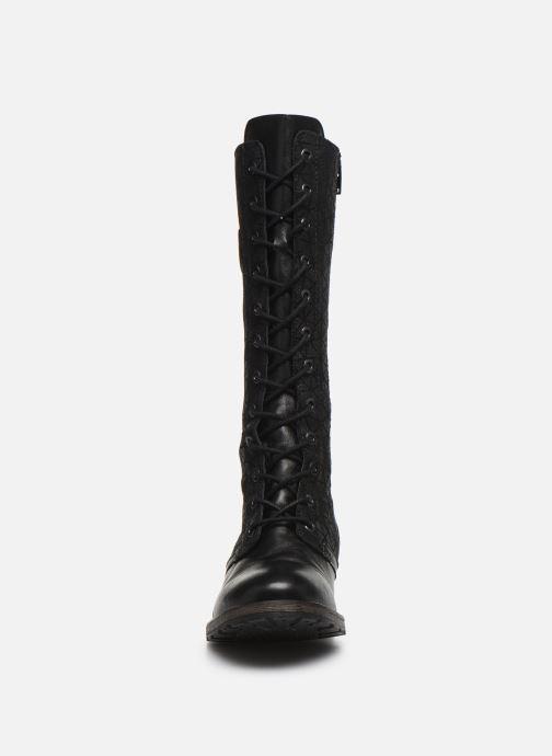 Bottes Pataugas Dolce Noir vue portées chaussures