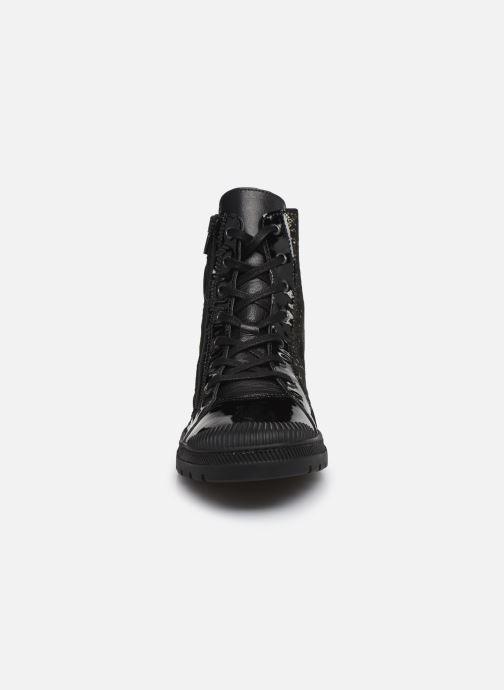 Bottines et boots Pataugas Albin Noir vue portées chaussures