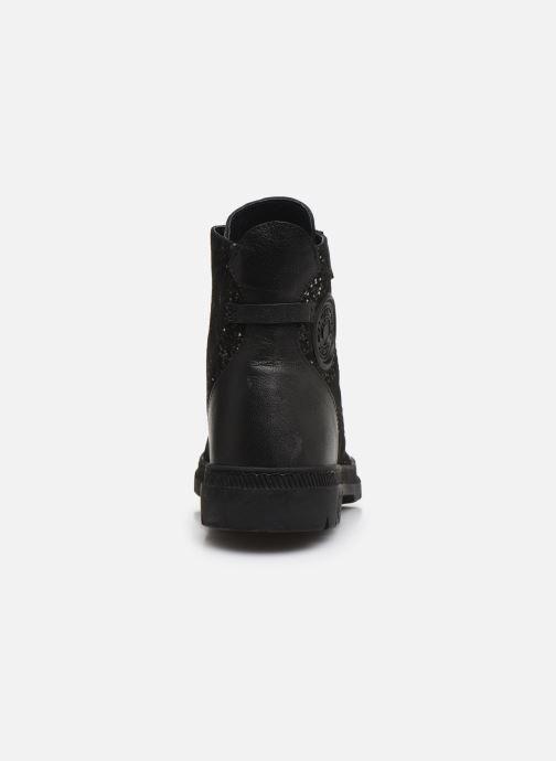 Bottines et boots Pataugas Albin Noir vue droite