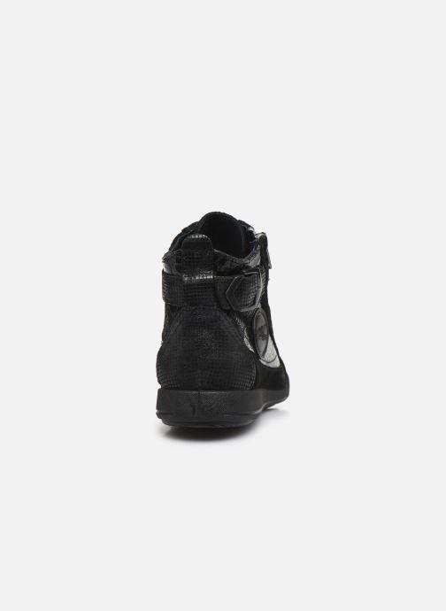 Baskets Pataugas Palme/C Noir vue droite