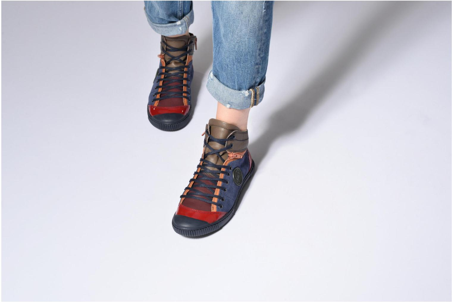 Trainers Pataugas Banjou/Mc Multicolor view from underneath / model view