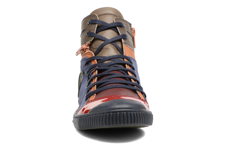 Baskets Pataugas Banjou/Mc Multicolore vue portées chaussures