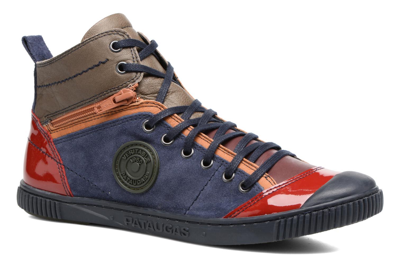 Baskets Pataugas Banjou/Mc Multicolore vue détail/paire