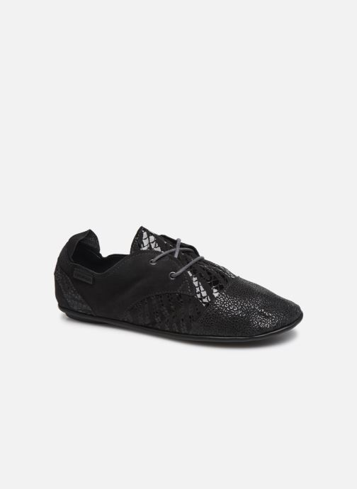 Lace-up shoes Pataugas Swing/Z Grey detailed view/ Pair view