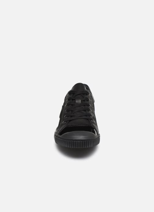 Baskets Pataugas Bohem Noir vue portées chaussures