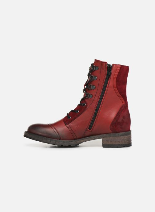Bottines et boots Pataugas Duke Rouge vue face