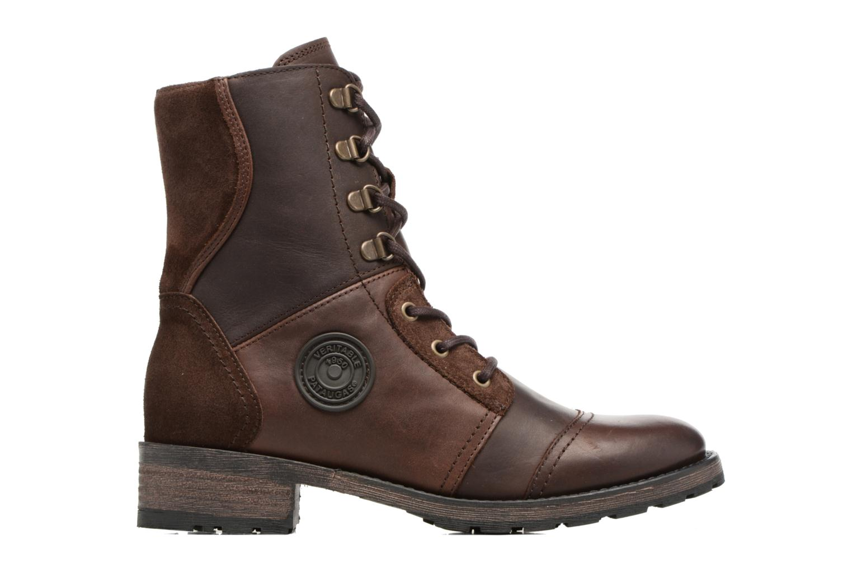 Bottines et boots Pataugas Duke Marron vue derrière