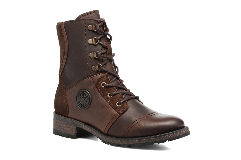 Bottines et boots Pataugas Duke Marron vue détail/paire