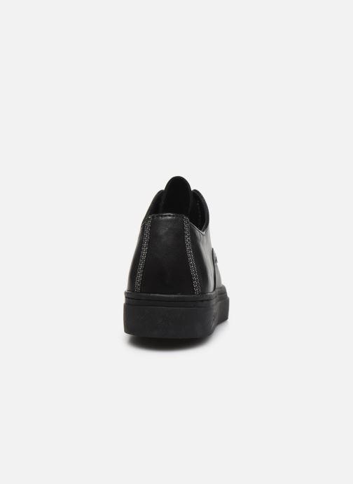 Zapatos con cordones Pataugas Yak Negro vista lateral derecha