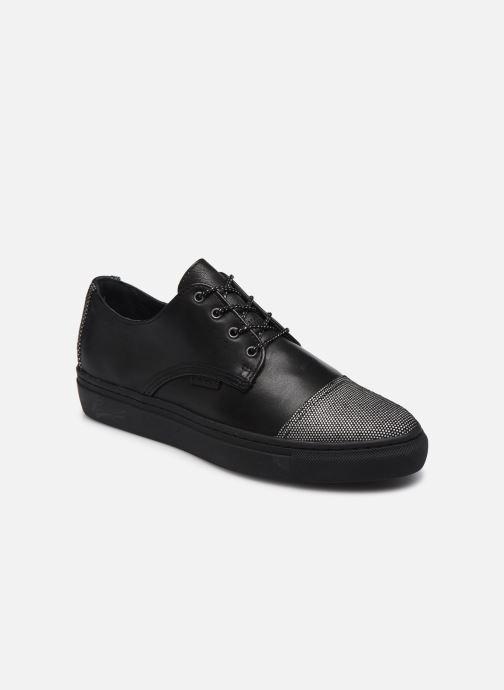 Zapatos con cordones Pataugas Yak Negro vista de detalle / par