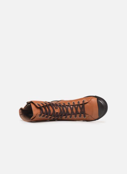 Baskets Pataugas Basic/N Marron vue gauche