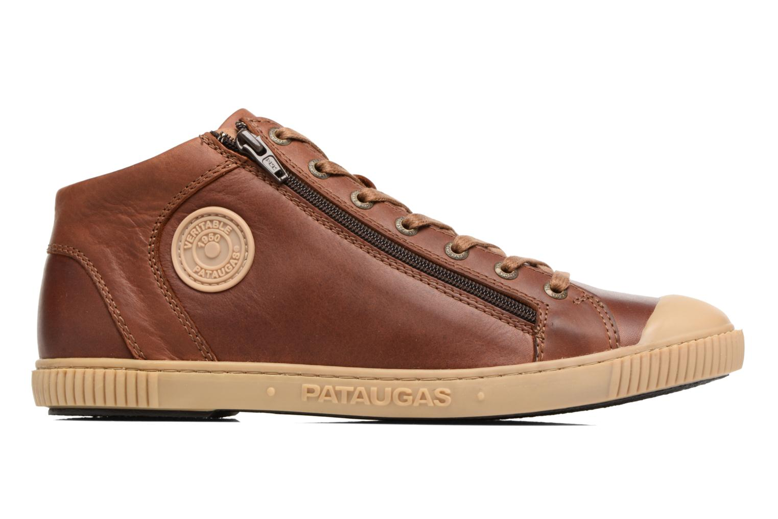 Trainers Pataugas Bumper/W Brown back view