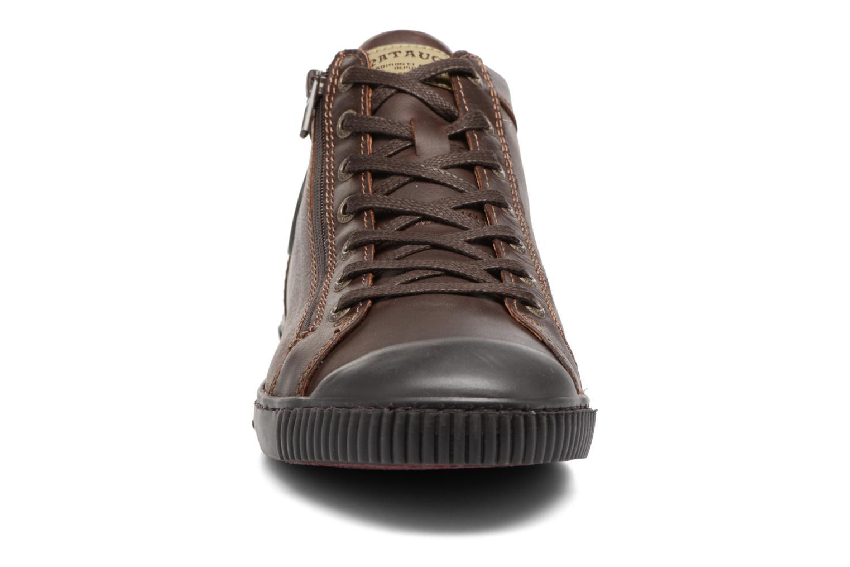 Baskets Pataugas Bumper/W Marron vue portées chaussures