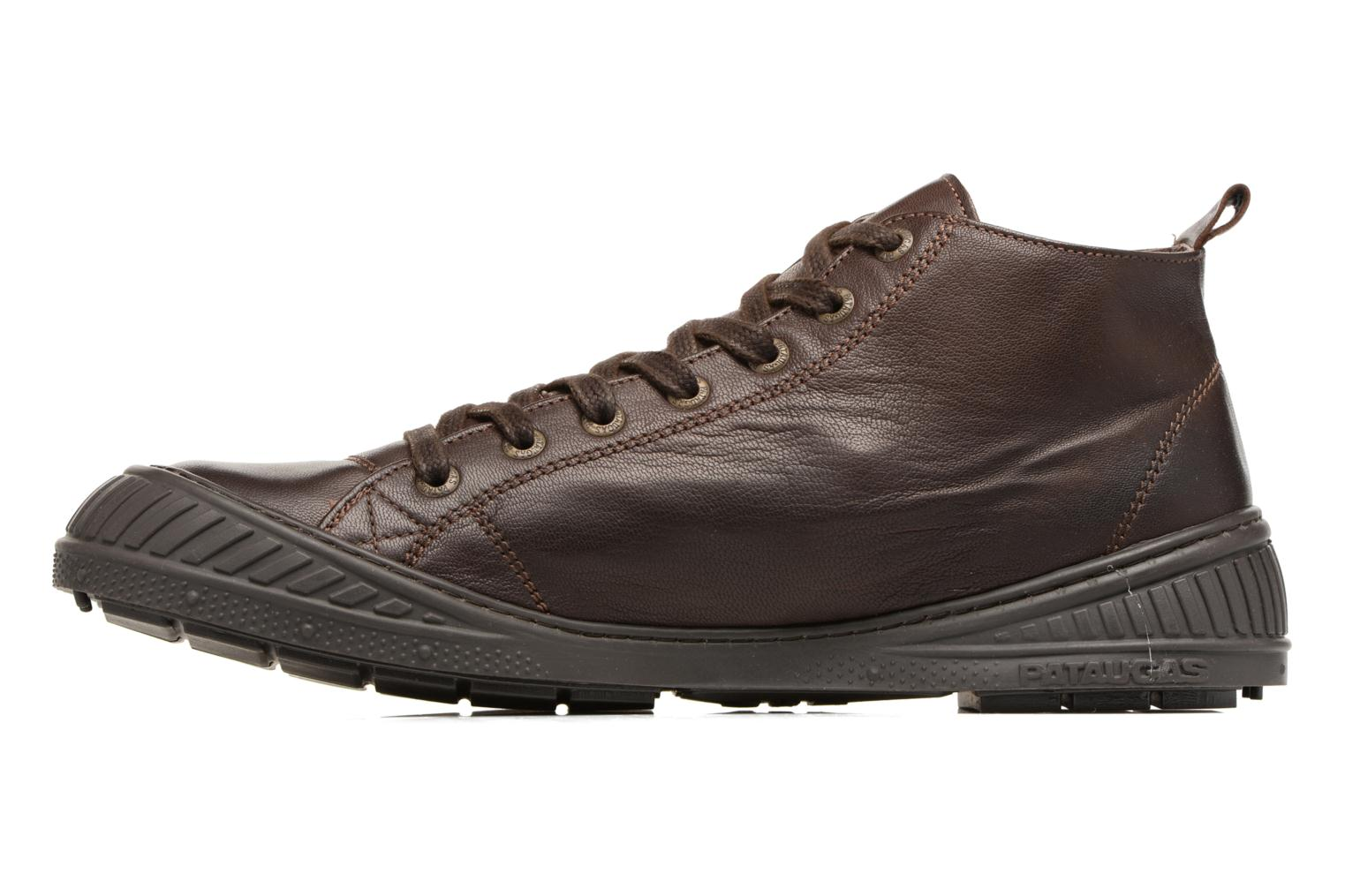 Trainers Pataugas RockerN M 2 Brown front view