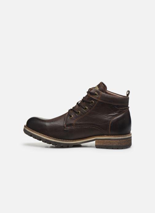 Boots en enkellaarsjes Pataugas Thar Bruin voorkant
