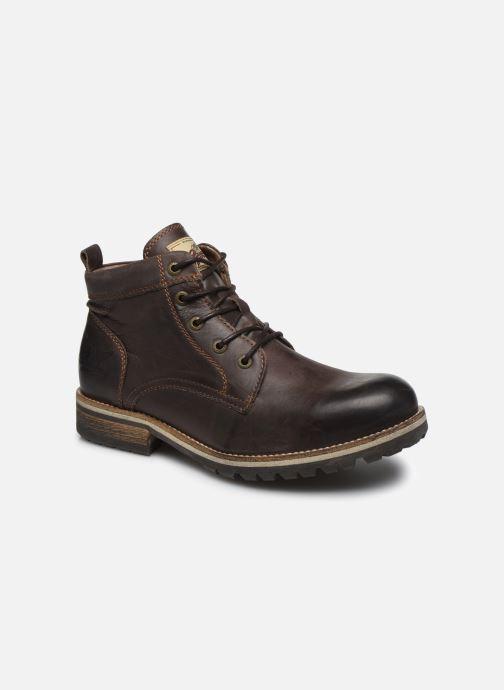 Boots en enkellaarsjes Pataugas Thar Bruin detail