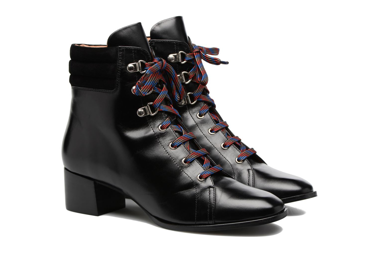 Bottines et boots Made by SARENZA Winter Ski #7 Noir vue derrière