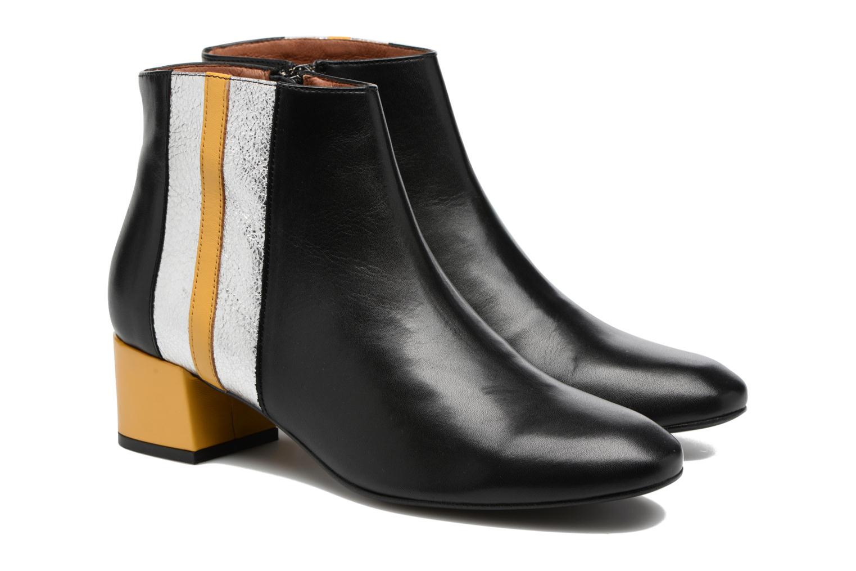 Bottines et boots Made by SARENZA Winter Ski #10 Noir vue derrière