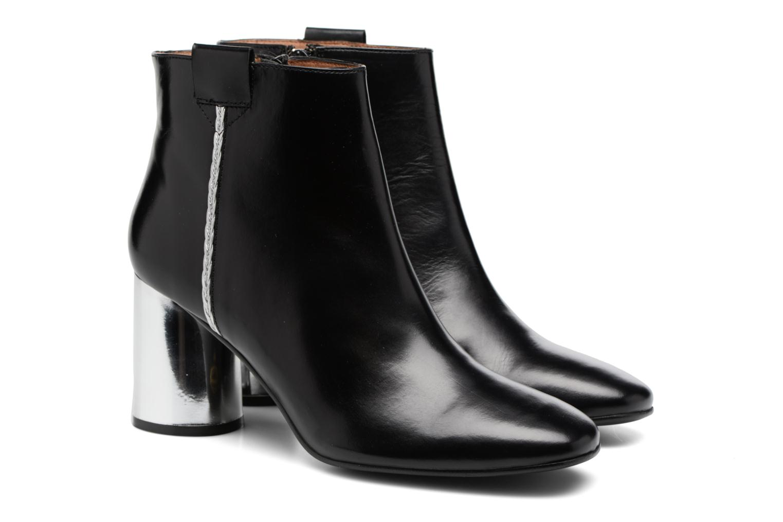 Bottines et boots Made by SARENZA Boots Camp #16 Noir vue derrière