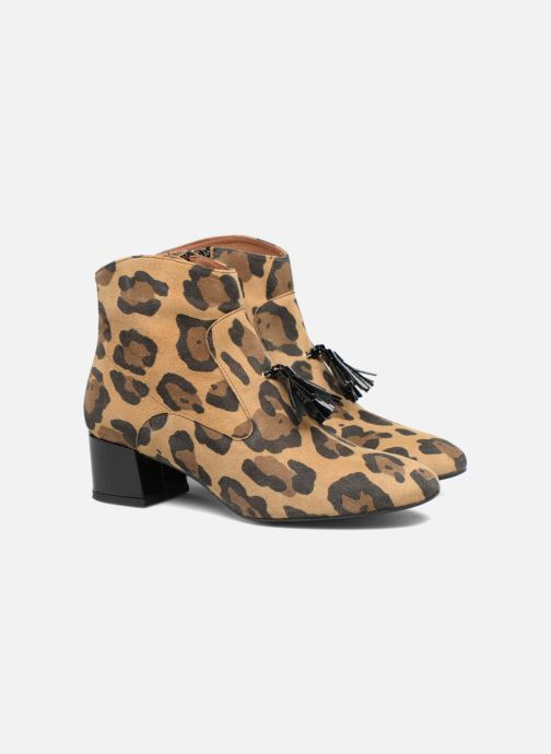 Bottines et boots Made by SARENZA Winter Freak #6 Marron vue derrière
