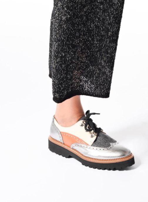 Chaussures à lacets Made by SARENZA Partygloo #6 Noir vue bas / vue portée sac