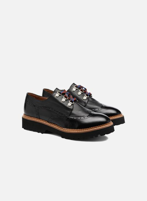 Chaussures Sarenza Noir Lacets Made À Partygloo6 Cuir By Lisse Omwv8nN0