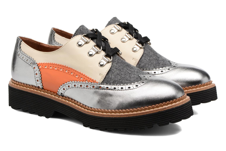 Chaussures à lacets Made by SARENZA Partygloo #6 Argent vue derrière