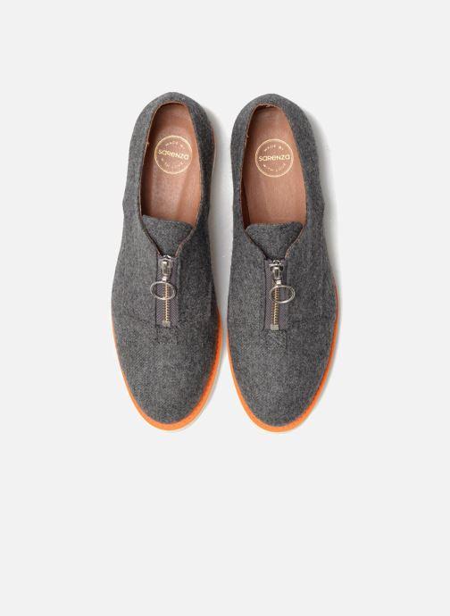 Mocassins Made by SARENZA Pastel Affair Chaussures à Lacets #1 Gris vue portées chaussures