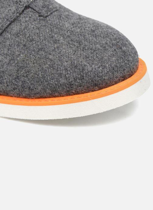 Mocassins Made by SARENZA Pastel Affair Chaussures à Lacets #1 Gris vue gauche